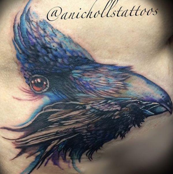 Rabe Tattoo Designs