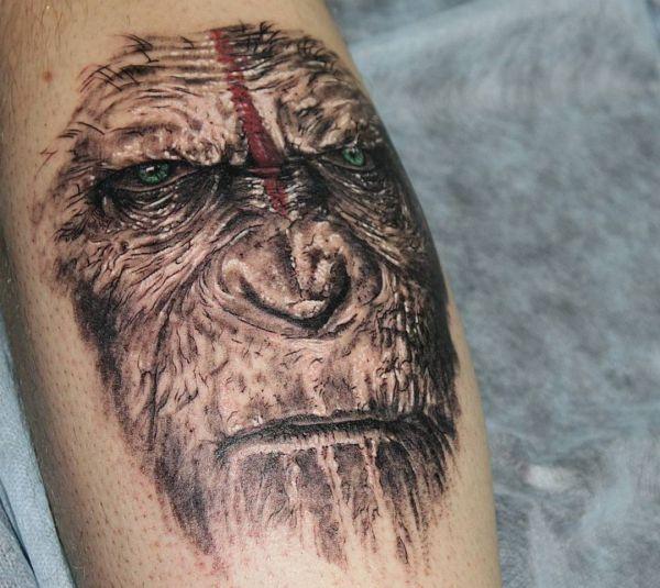 affe tattoo ideen bilder und bedeutungen
