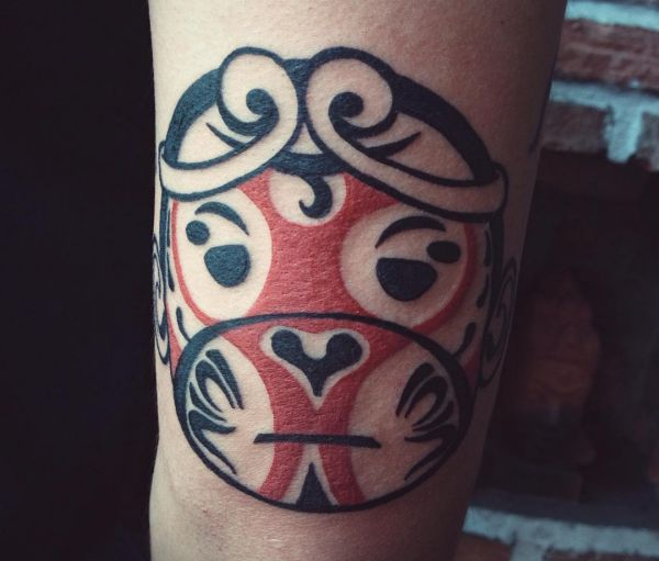 Tribal Tattoo Affe Haida Design