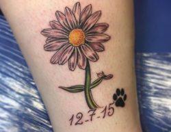 33 schöne Gänseblümchen Tattoos und ihre Bedeutungen