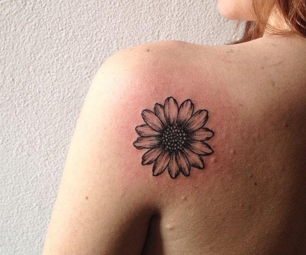 Einfach Gänseblümchen Design für Frau