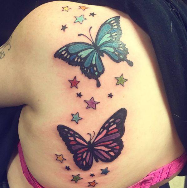 25 Stern Tattoo Ideen Bilder Und Bedeutungen