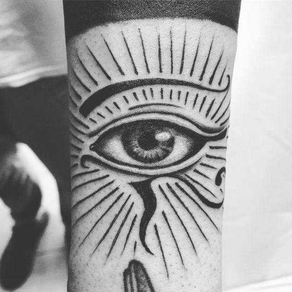 Das Auge von Horus Design