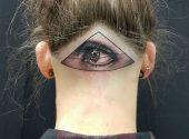 3D Auge Design Kopf