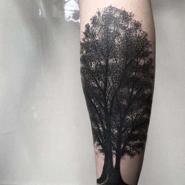 Linden Baum Tattoo Design