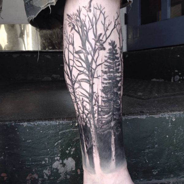 tattoo arm baum birthstone tattoos graphic tree tattoo by mel van hel by spray baum. Black Bedroom Furniture Sets. Home Design Ideas