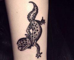 Eidechsen Tattoo – Seine Bedeutung und 18 Ideen