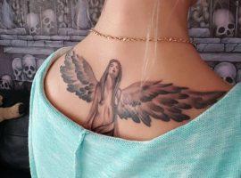 Engel Tattoo Designs mit Bedeutungen – 30 Ideen