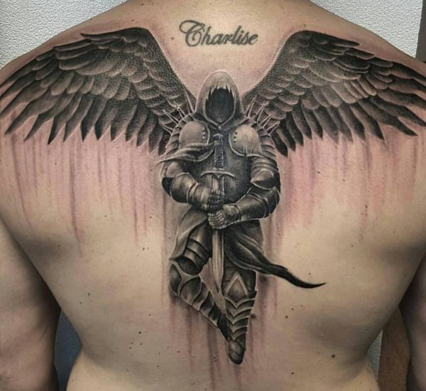 Cross With Wings Tattoo Designs