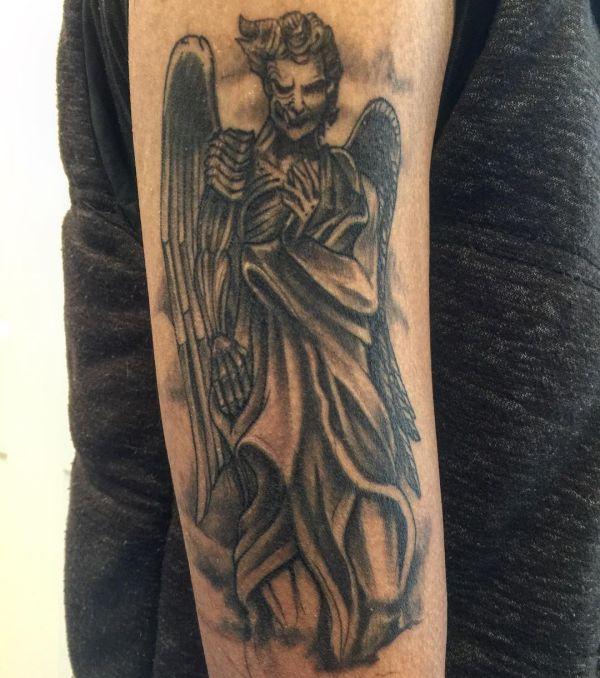 Engel und teuflischen Engel Design