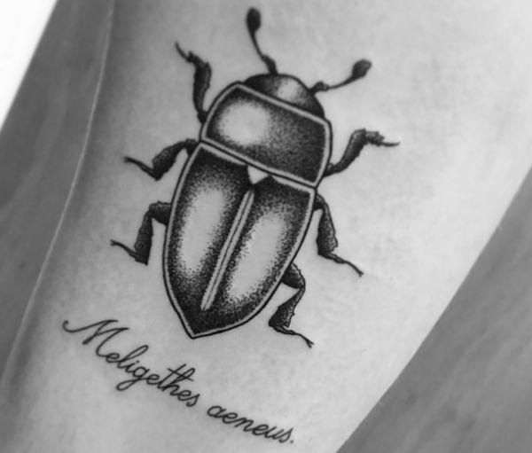 Käfer Design mit Sprüche schwarz und weiß