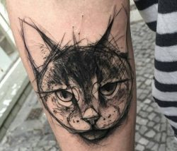 30 Katzen Tattoo Ideen mit Bedeutungen