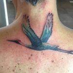 19 sehr schöne Kranich Tattoos und ihre Bedeutungen