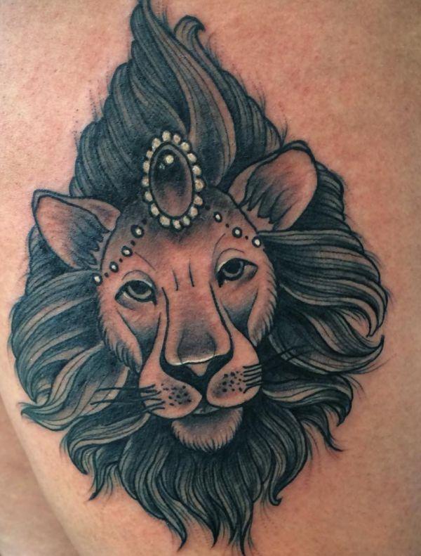 Lowen Tattoos Und Ihre Bedeutungen