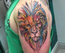 Löwen Tattoos und ihre Bedeutungen