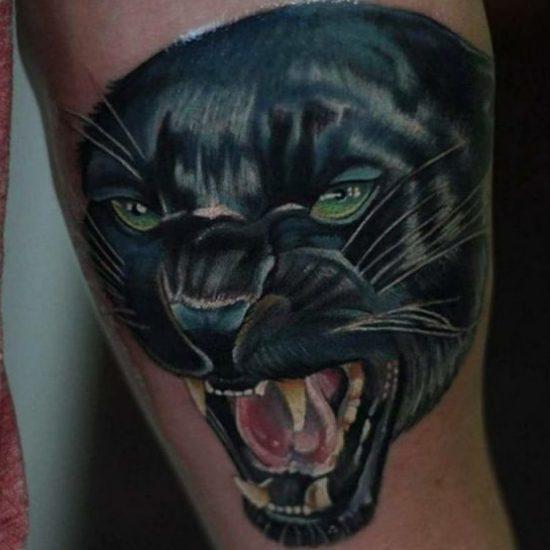 Panther Tattoos und ihre Bedeutungen