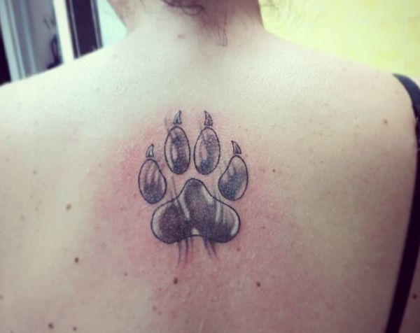 wolfspfote tattoo
