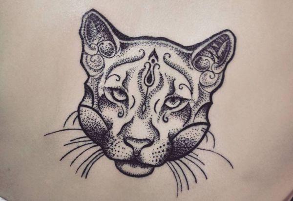 Puma Kopf Tattoo Vorlagen