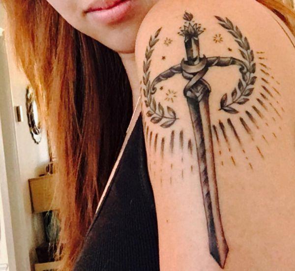 Schwert Design für Frauen