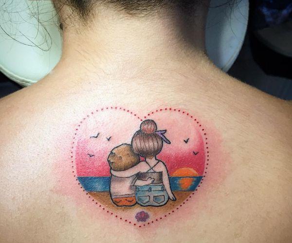Geschwister Tattoo Idee
