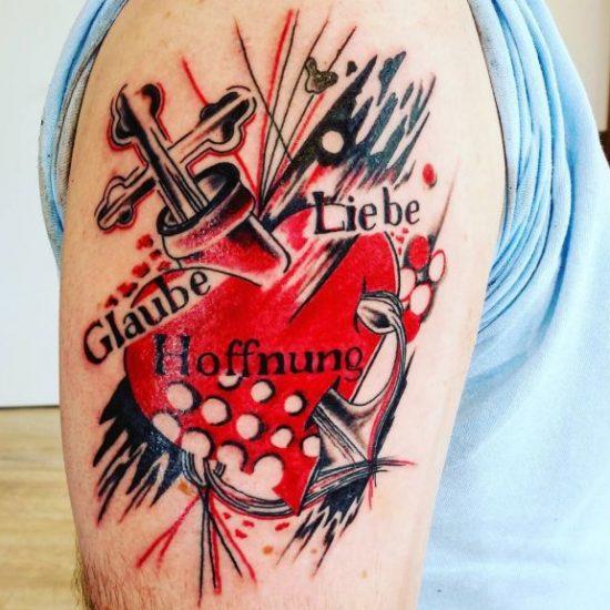 Tattoo Ideen - Symbol für Hoffnung